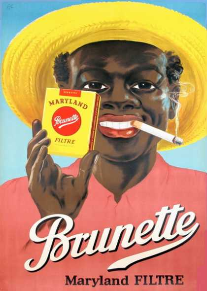 Racist Cigarette Ad